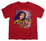 Youth: Wonder Woman - Pop Art Wonder T-Shirt