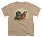 Youth: Wildlife - Dachshund Pups T-Shirt