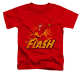 Toddler: The Flash - Flash Rough Distress T-Shirt