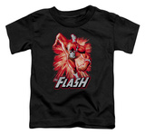 Toddler: The Flash - Flash Red & Gray Shirts