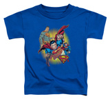 Toddler: Superman - Superman Collage T-shirts