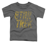 Toddler: Star Trek - Schematic Logo T-shirts