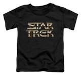 Toddler: Star Trek - Feel The Steel T-shirts
