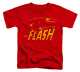Toddler: The Flash - Flash Speed Distressed T-shirts