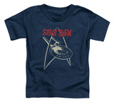 Toddler: Star Trek - Ship Symbol Shirt