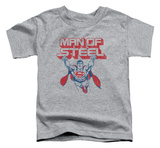 Toddler: Superman - Steel Retro T-shirts