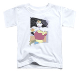Toddler: Wonder Woman - Wonder Woman 80s Minimal T-Shirt