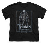 Youth: The Hobbit: An Unexpected Journey - Thorin Stare T-shirts