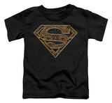 Toddler: Superman - Aztec Shield T-shirts