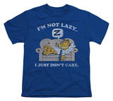 Youth: Garfield - Not Lazy T-Shirt