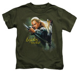 Juvenile: The Hobbit - Legolas Greenleaf T-shirts