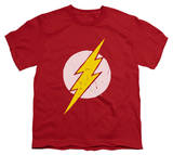 Youth: The Flash - Rough Flash T-shirts