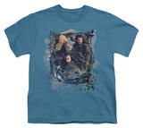 Youth: The Hobbit: The Desolation of Smaug - Three Dwarves T-Shirt