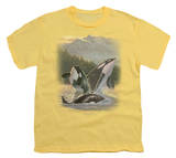 Youth: Wildlife - Breaching Orcas T-Shirt