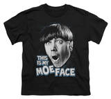Youth: The Three Stooges - Moe Face T-shirts