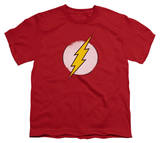 Youth: The Flash - Rough Flash Logo T-shirts