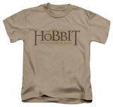 Juvenile: The Hobbit: The Desolation of Smaug - Textured Logo T-Shirt