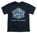 Youth: White Castle - Distressed Logo Shirts