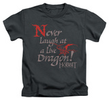 Juvenile: The Hobbit: The Desolation of Smaug - Never Laugh T-Shirt