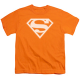 Youth: Superman - Orange & White Shield T-shirts