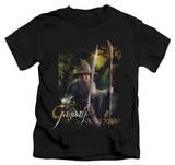 Juvenile: The Hobbit - Sword And Staff Shirts