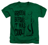 Youth: Gumby - Cool Green T-shirts