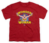 Youth: Wonder Woman - Flying Through Shirt