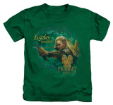 Youth: The Hobbit: The Desolation of Smaug - Greenleaf T-Shirt