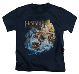 Juvenile: The Hobbit: The Desolation of Smaug - Barreling Down T-shirts