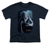 Youth: The Hobbit: An Unexpected Journey - Gollum Poster T-Shirt