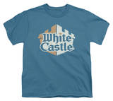 Youth: White Castle - Torn Logo T-Shirt