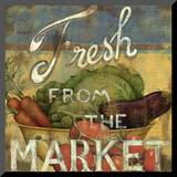From the Market IV Mounted Print by Daphne Brissonnet