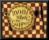 Mom, What's for Supper Mounted Print by Dan Dipaolo