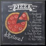 Pizza Mounted Print by Jo Moulton