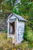 Dilapidated Outhouse Photographic Print by  Wolterk