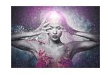 Fragility of a Human Creature Conceptual Body Art on a Woman Prints by NejroN Photo