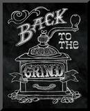 Back to the Grind No Border Mounted Print by Mary Urban