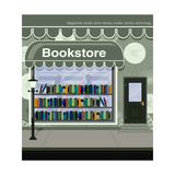Bookstore Poster by  intararit