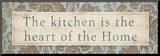 Kitchen Mounted Print by Elizabeth Medley