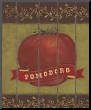Pomodoro Mounted Print by Stephanie Marrott