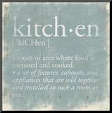 Kitchen Definition 2 Mounted Print by Jace Grey
