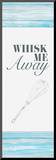 Whisk Me Away Mounted Print by Gina Ritter