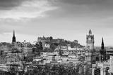 View of the Edinburgh City Skyline, Scotland Prints by  InfotronTof