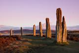 Neolithic Stone Circle and Henge Photographic Print by  johnbraid