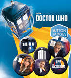 Doctor Who Badge Pack Badge