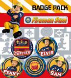 Fireman Sam - Heroes Badge Pack Badge