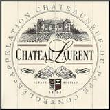 Chateau Laurent Mounted Print by Angela Staehling