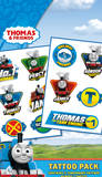 Thomas and Friends High Velocity Tattoo Pack Väliaikaiset tatuoinnit