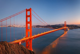 Golden Gate Bridge at Dusk, Sun Francisco Photographic Print by  sborisov