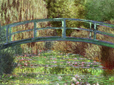 Claude Monet Le Pont Japonais Japanese Bridge at Giverny Art Print Poster Prints